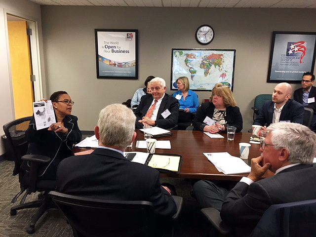 Cynthia Griffin speaking at a China Roundtable