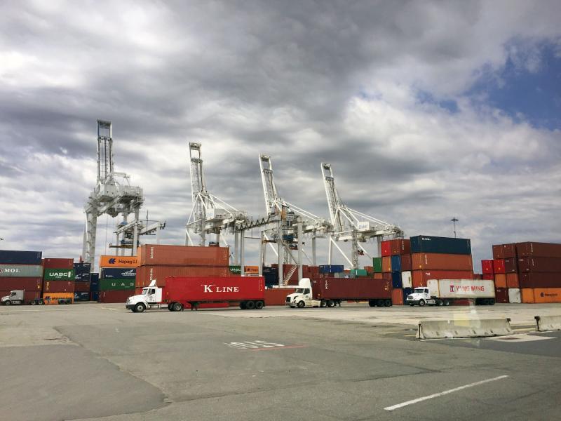 NJDEC Port Tour