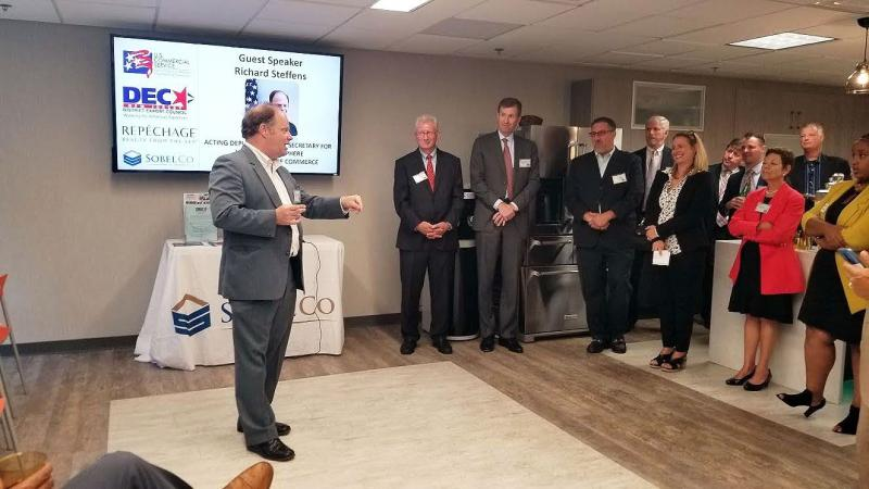 Networking event with guest speaker Richard Steffens
